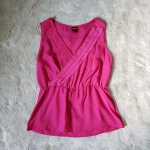 Merona Hot Pink Top size M